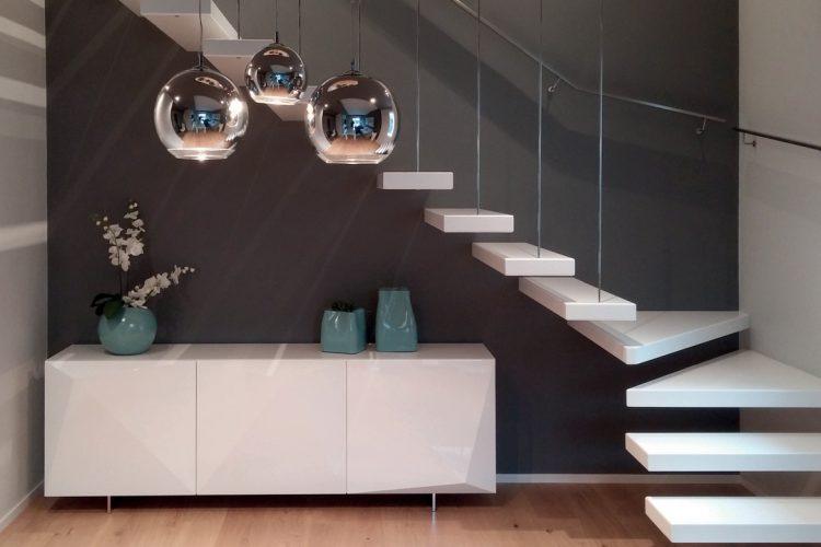 scale di design a sbalzo scale moderne duelle scale