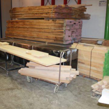 Preparazione del legno
