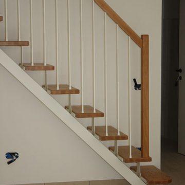 Particolare prima rampa di scale