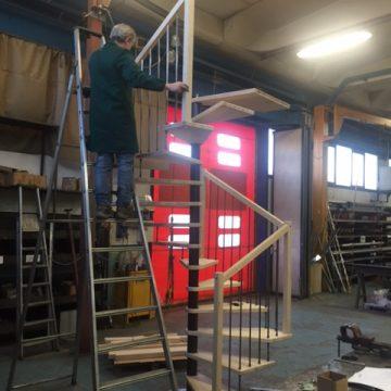 Michele al premontaggio scala