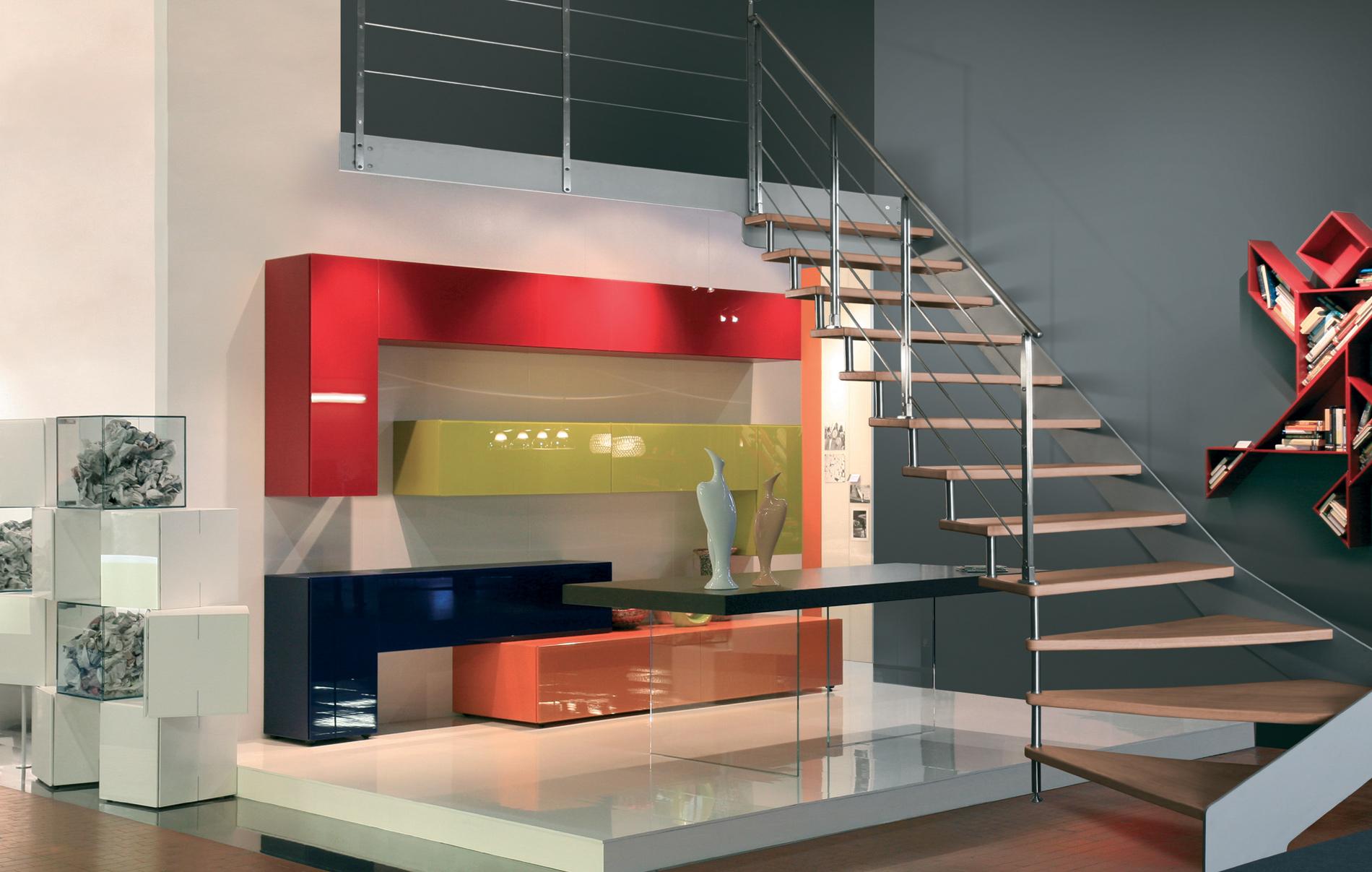 Duelle scale scale arredo opere d 39 arte che cambiano il for Duelle scale