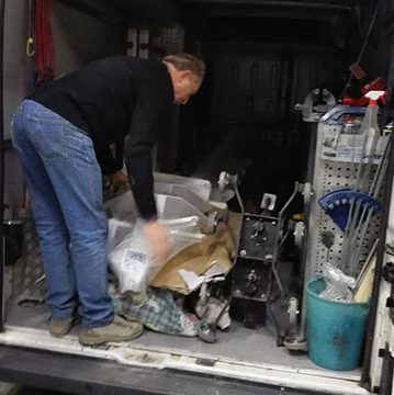 Operazioni di ottimizzazione carico furgone