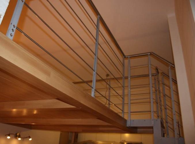Fabulous particolari travi in legno soppalco with soppalco for Soppalco in legno lamellare
