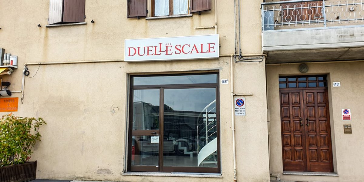 Duelle Scale showroom di Modena