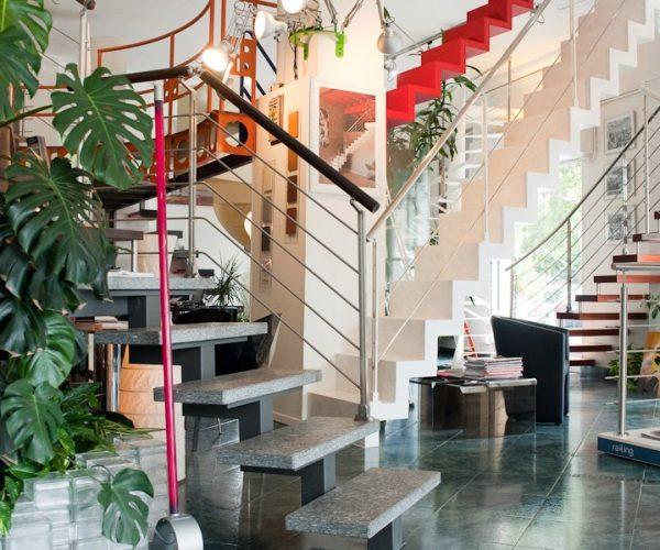 scale milano duelle scale interno negozio