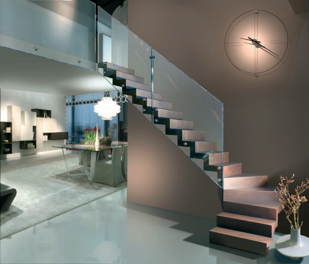Ringhiera Scala Interna Moderna scale interne di design e scale a giorno moderne - duelle scale
